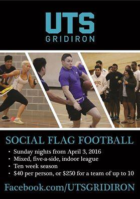 UTS Gridiron Flag Competition